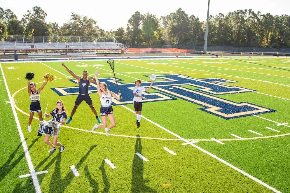 Holy Trinity Student-athletes