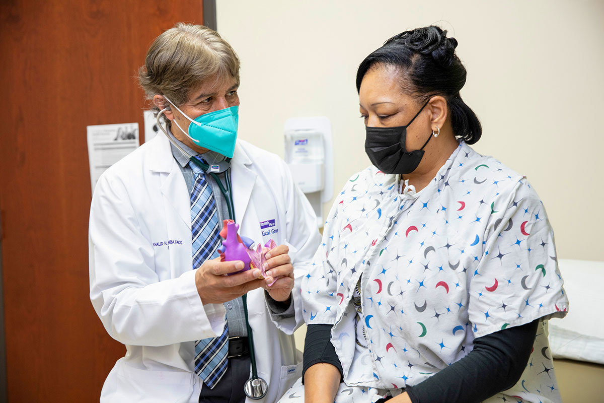 Health First cardiologist Dr. Khalid Sheikh discusses treatment