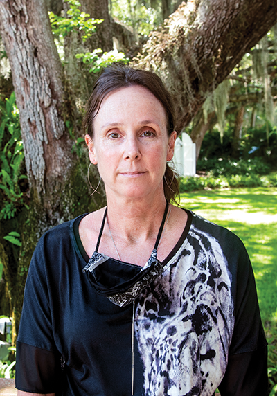 Chief biologist Martine deWit of the Florida Fish and Wildlife Conservation Commission