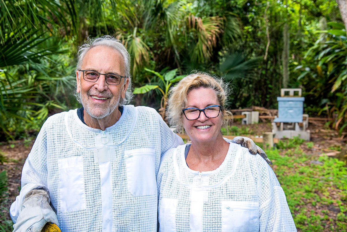 Lew Kontnik and his wife, Brenna Sorensen