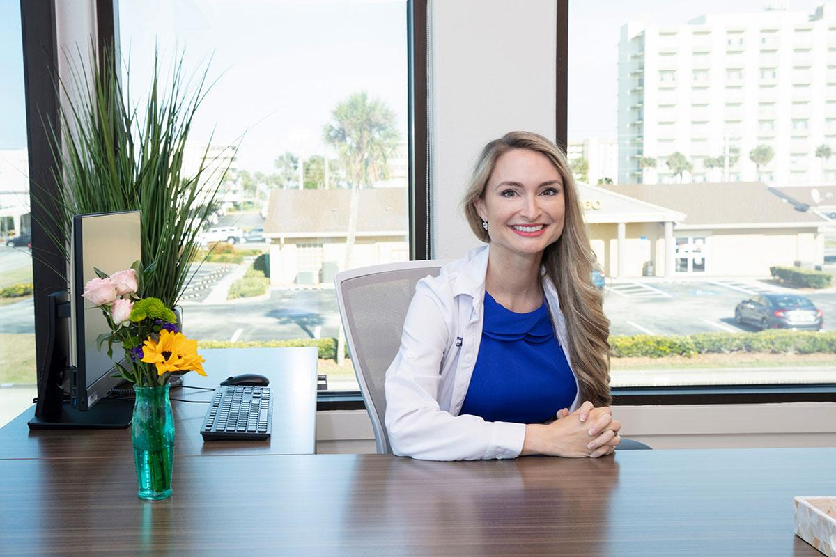 Dermatologist Dr. Vanessa Johnson of Cocoa Beach