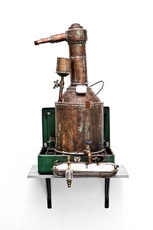 1900s era copper still